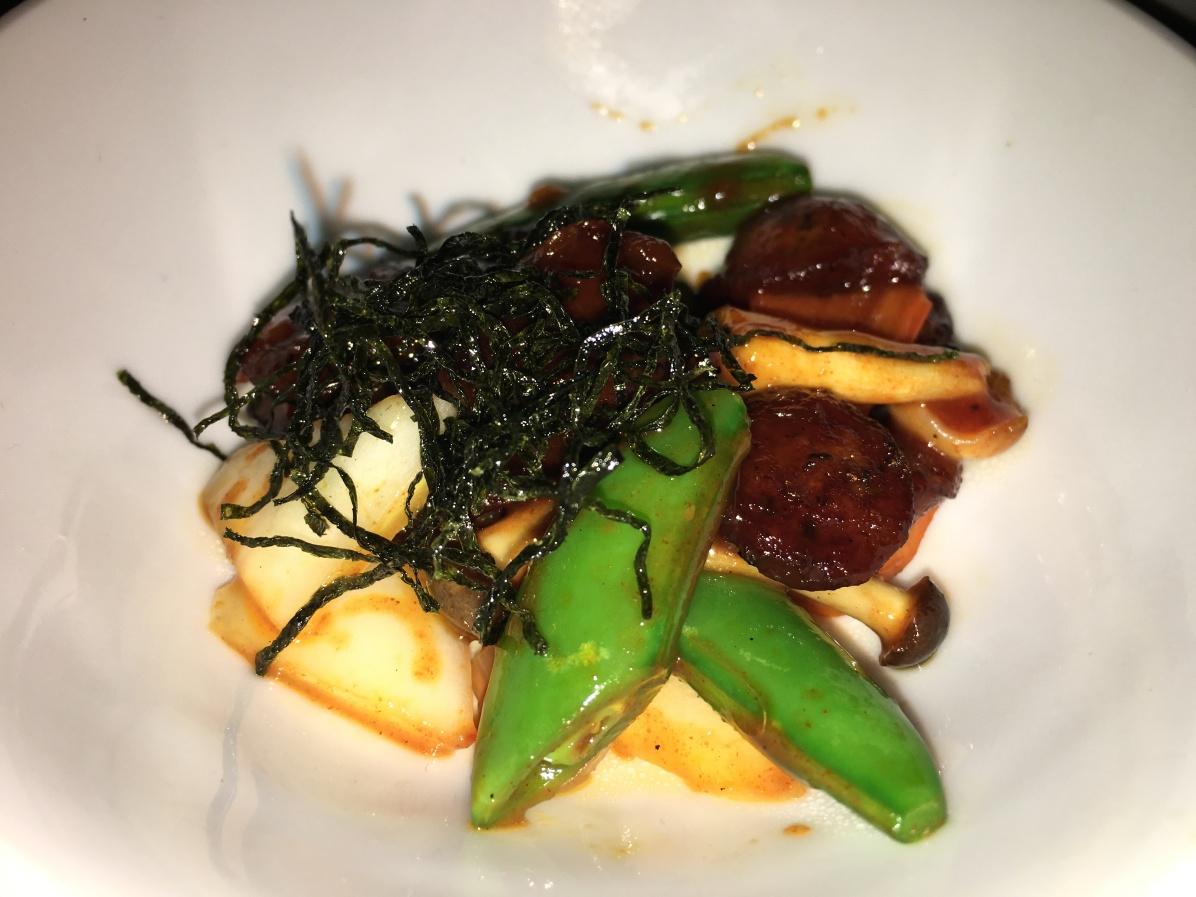 Korean pork sausage